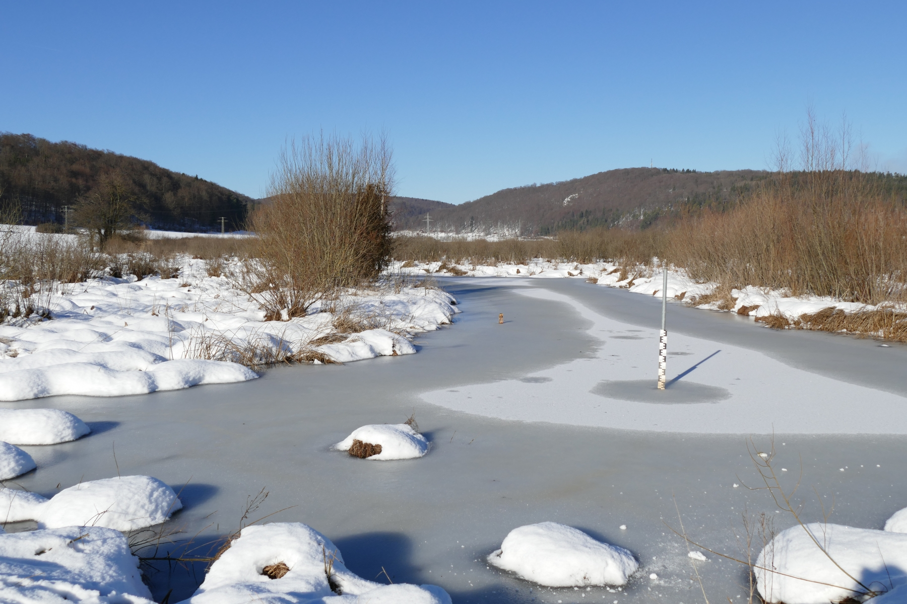 Schmiechener See Winter